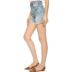 Madewell The Perfect Summer Short in Light Wash